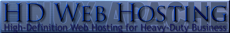 High Definition Web Hosting for Heavy Duty Business Websites on fast, secure Linux Apache cloud hosting and servers, with customer support available 24/7.